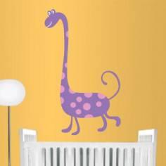 Αυτοκόλλητα τοίχου παιδικά, Χαρούμενος δεινόσαυρος