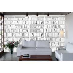 Ταπετσαρία τοίχου, Λευκή βιβλιοθήκη