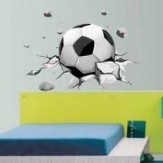Αυτοκόλλητο τοίχου, Δυναμική μπάλα ποδοσφαίρου