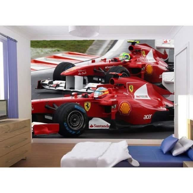Formula 1 , Alonso ,Massa, Φωτογραφική ταπετσαρία