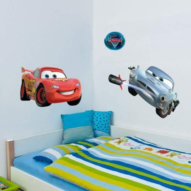 Lightning McQueen , αυτοκόλλητο , τοίχου Disney