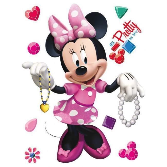 Μίνι και Νταίζυ, αυτοκόλλητο τοίχου Disney