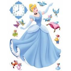 Η Πριγκίπισσα Cinderella , αυτοκόλλητο τοίχου Disney