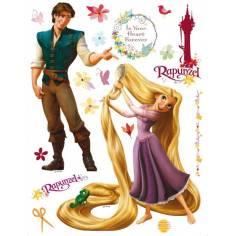 Ραπουνζέλ και βασιλόπουλο , αυτοκόλλητο τοίχου Disney