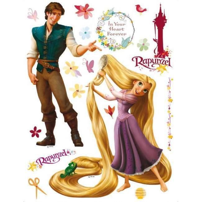 Ραπουνζελ , αυτοκόλλητο τοίχου Disney
