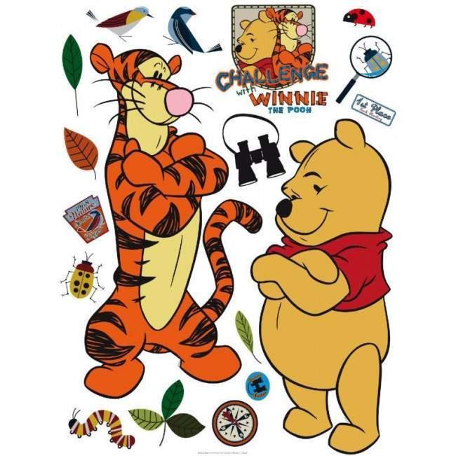 Ο Γουίνι και η παρέα του 2, αυτοκόλλητο τοίχου Disney
