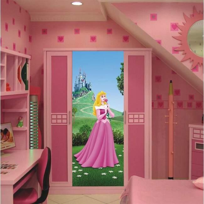 Πριγκίπισσα Disney, ταπετσαρία πόρτας , ντουλάπας , τοίχου