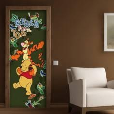 Περιπέτειες του Γουίνι , ταπετσαρία πόρτας , ντουλάπας , τοίχου
