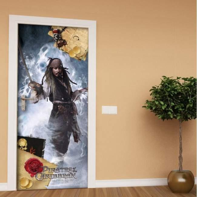 Πειρατές της Καραϊβικής 2, ταπετσαρία πόρτας , ντουλάπας , τοίχου