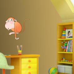 Αστεία Μαϊμού, αυτοκόλλητο τοίχου