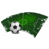Μοντέρνα εικόνα ποδοσφαιρικού γηπέδου | Αυτοκόλλητο τοίχου , κοντινό