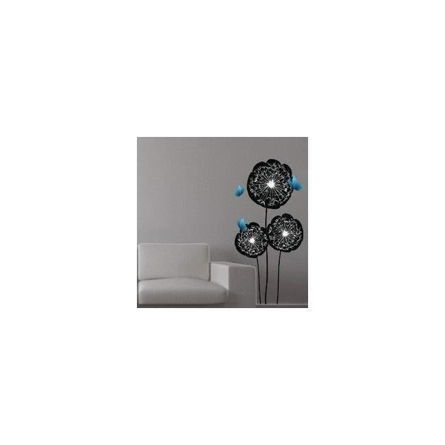 Πεταλούδες Και Λουλούδια | Αυτοκόλλητο τοίχου