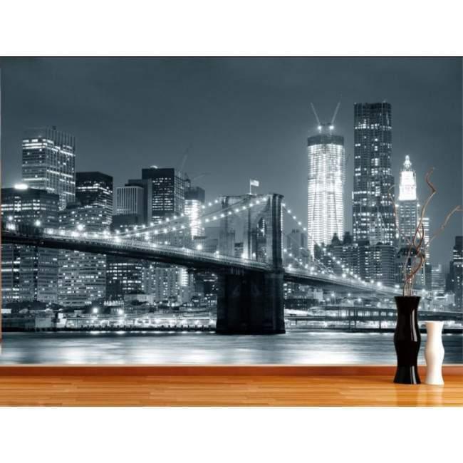 Η γέφυρα του Brooklyn, αυτοκόλλητη φωτογραφική ταπετσαρία