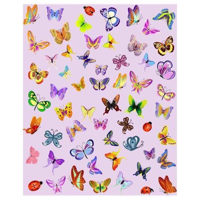 Πεταλούδες Συλλογή , προσαρμόστε μέγεθος και χρώμα | Αυτοκόλλητο τοίχου