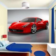Ferrari 458 , 2011, Φωτογραφική ταπετσαρία αυτοκόλλητη