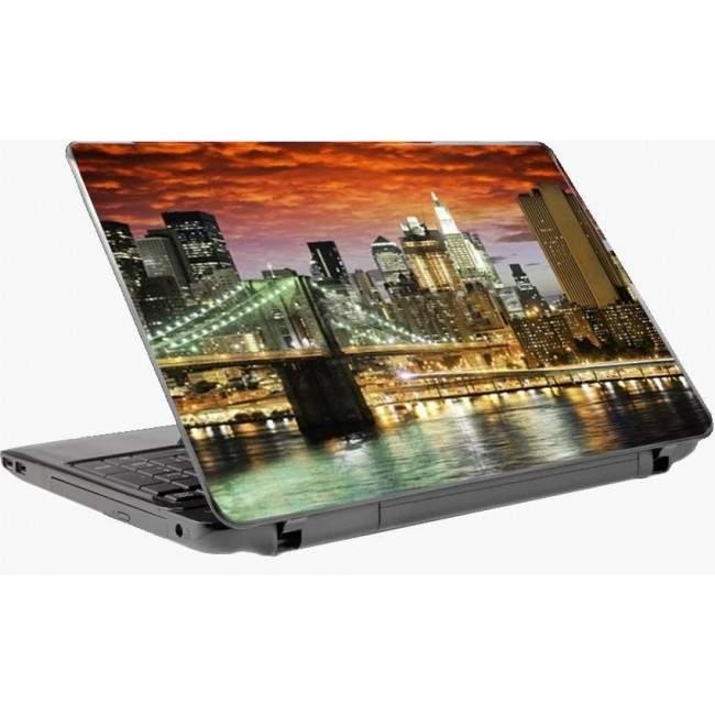 Η γέφυρα του Μπρούκλιν color,αυτοκόλλητο laptop