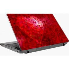 Red heart,αυτοκόλλητο laptop