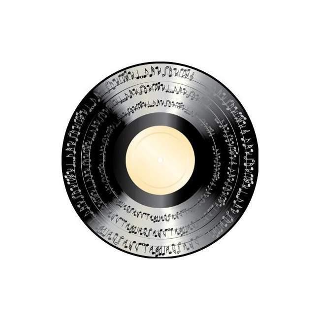 Δίσκος βινυλίου , αυτοκόλλητο τοίχου