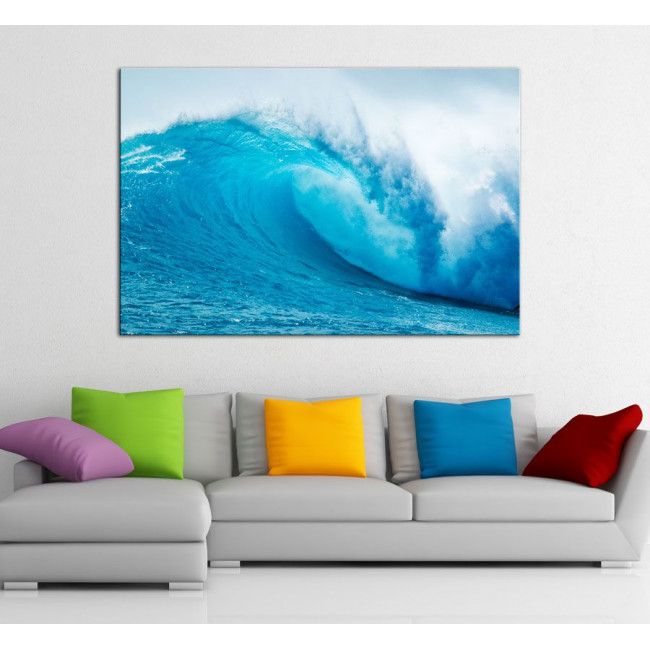 Wave, πίνακας σε καμβά