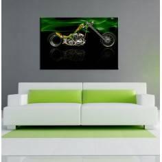 Harley Davidson , πίνακας σε καμβά 90 X 60