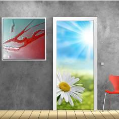 Μαργαρίτα στον ήλιο, αυτοκόλλητο πόρτας
