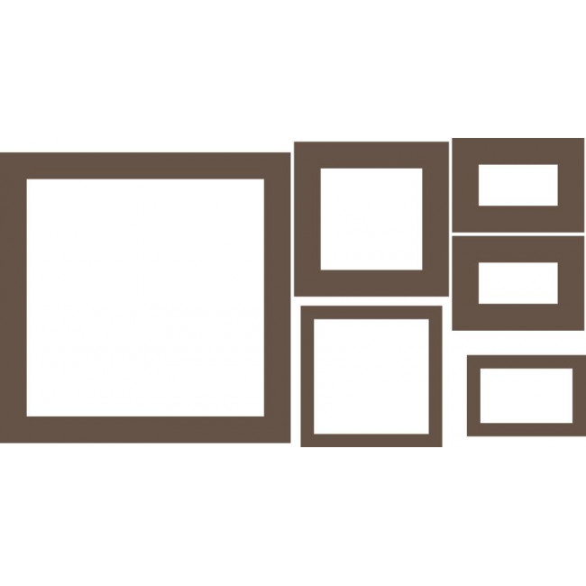 Τετράγωνα no2 , αυτοκόλλητο τοίχου