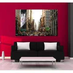New York City Life, πίνακας σε καμβά