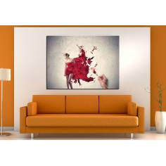 Paint me! πίνακας σε καμβά