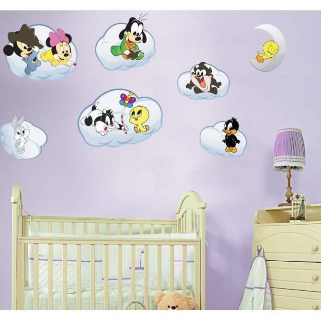 Baby looney tunes set 2, παράσταση σε αυτοκόλλητα τοίχου