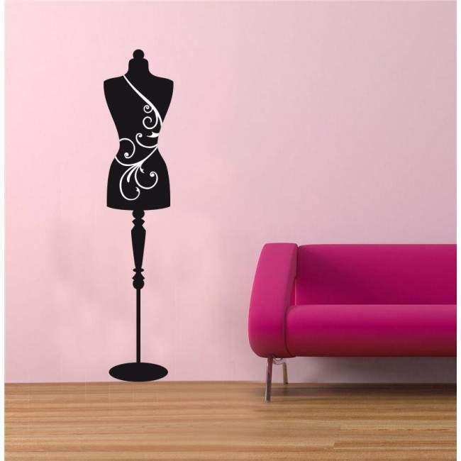 κούκλα - καλόγερος , αυτοκόλλητα τοίχου