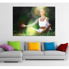 Πίνακας σε καμβά, Yoga