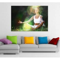 Yoga, πίνακας σε καμβά