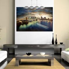 Amazing New York cityscape, πίνακας σε καμβά