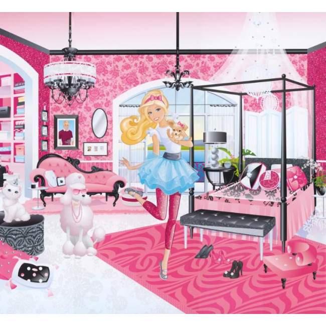 Barbie, Φωτογραφική ταπετσαρία αυτοκόλλητη , στις διαστάσεις που θέλετε!