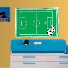 Γήπεδο Ποδοσφαίρου, αυτοκόλλητο τοίχου