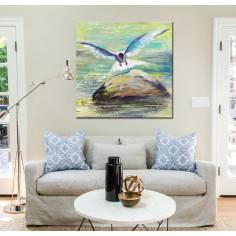 Seagull, πίνακας σε καμβά