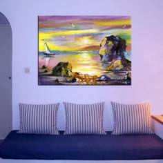 Sea landscape,πίνακας σε καμβά