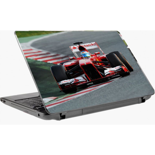 Alonso , Ferrari 2013 ,αυτοκόλλητο laptop