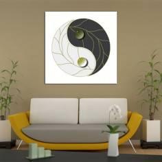 Γιν & Γιάνγκ, πίνακας σε καμβά