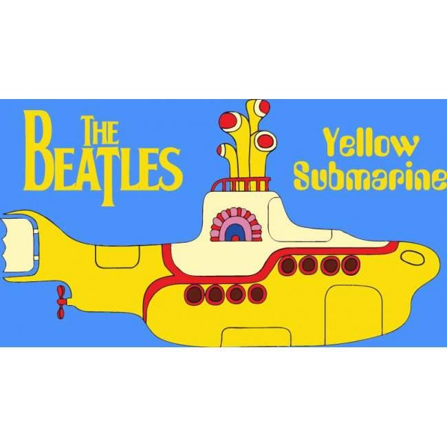 The Beatles, Yellow submarine , αυτοκόλλητα τοίχου