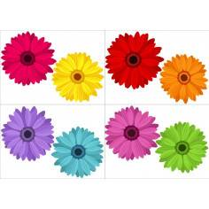 Λουλούδια! , αυτοκόλλητα τοίχου