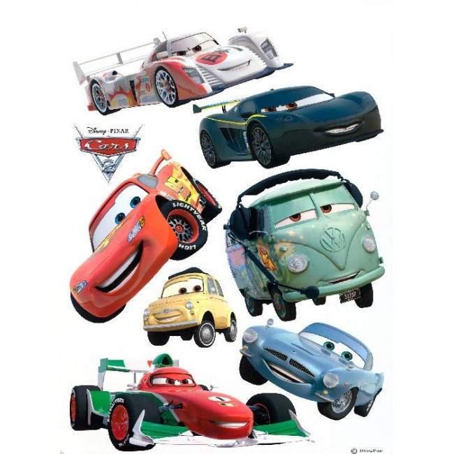 Κεραυνός Μακ κουίν και οι γρήγοροι φίλοι του, αυτοκόλλητο , τοίχου Disney