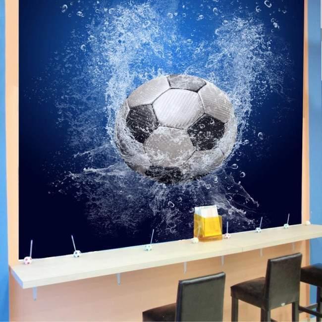 Μπάλλα Ποδοσφαίρου , Φωτογραφική ταπετσαρία
