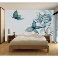Butterflie dreams, ταπετσαρία τοίχου φωτογραφική