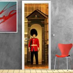 English guard, αυτοκόλλητο πόρτας