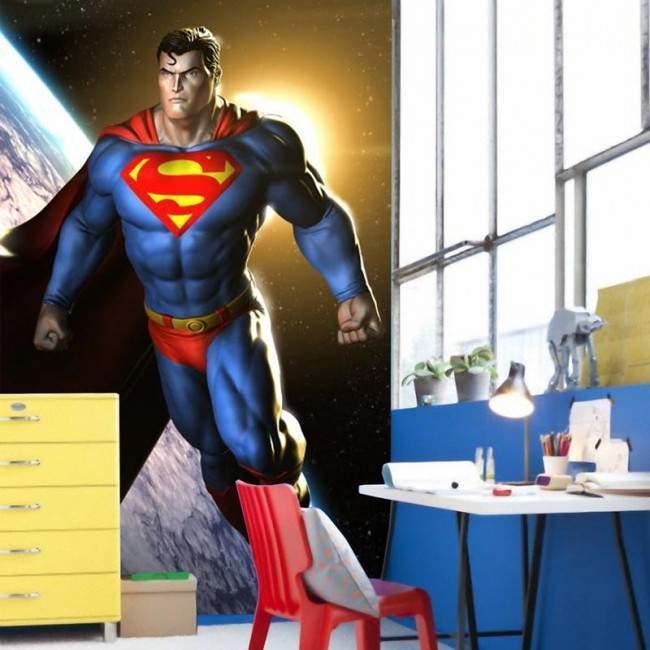 Superman, Φωτογραφική ταπετσαρία αυτοκόλλητη , στις διαστάσεις που θέλετε!
