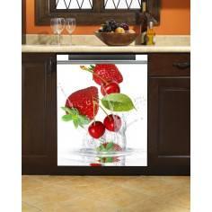 Strawberries! , αυτοκόλλητο πλυντηρίου πιάτων