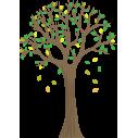 Αυτοκόλλητα τοίχου, Δέντρο λαιμ, Lime tree 2