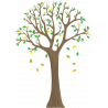 Lime tree 2, αυτοκόλλητο τοίχου, κοντινό