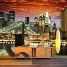 New York architecture, φωτογραφική ταπετσαρία
